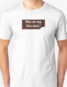 Who Ate My Chocolate iPhone Case - Galaxy Phone Cover T-Shirt