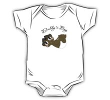 Daddy's Boy Black Hair and Brown Eyes One Piece - Short Sleeve