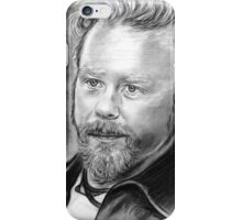 Nothing Else Matters in Black and White iPhone Case/Skin