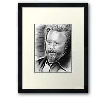 Nothing Else Matters in Black and White Framed Print