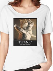 Titanic Cats Women's Relaxed Fit T-Shirt