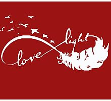 Love - Light Photographic Print