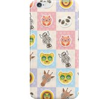 Set of funny animals  iPhone Case/Skin