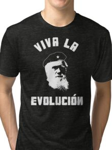 VIVA LA EVOLUCION EVOLUTION Tri-blend T-Shirt