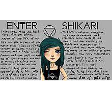 Enter Shikari Girl Photographic Print