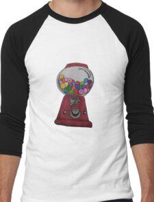 Happy Gum Machine Men's Baseball ¾ T-Shirt