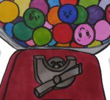 Happy Gum Machine Sticker