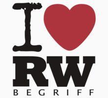 RAUH-WELT BEGRIFF : I LOVE Kids Tee