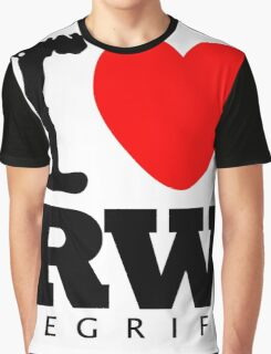 RAUH-WELT BEGRIFF : I LOVE Graphic T-Shirt