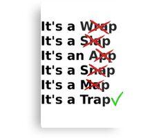 It's a Wrap? No it's a Slap? No Metal Print