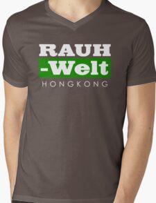 RAUH-WELT BEGRIFF : hongkong Mens V-Neck T-Shirt