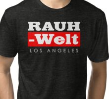 RAUH-WELT BEGRIFF : Los Angeles Tri-blend T-Shirt