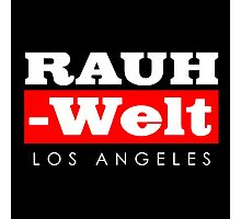RAUH-WELT BEGRIFF : Los Angeles Photographic Print