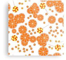 Patterns of fruit and berries. Metal Print