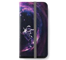 Space Surfing II iPhone Wallet/Case/Skin