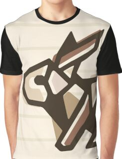 Paper Anigami Bunny Graphic T-Shirt
