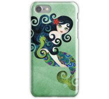 Aquamarine Mermaid iPhone Case/Skin