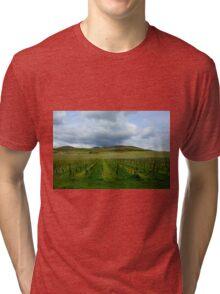 La route de vins Tri-blend T-Shirt