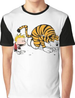 Calvin And Hobbes : Get Set, Ready, Go ... Graphic T-Shirt