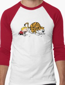 Calvin And Hobbes : Get Set, Ready, Go ... Men's Baseball ¾ T-Shirt