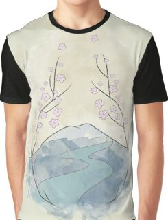A view in Japan Graphic T-Shirt