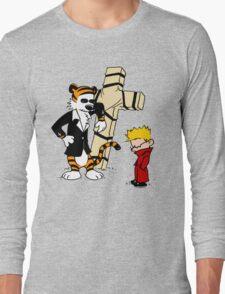 Calvin And Hobbes : Detective Long Sleeve T-Shirt