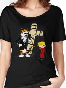 Calvin And Hobbes : Detective Women's Relaxed Fit T-Shirt