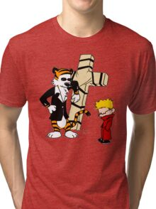 Calvin And Hobbes : Detective Tri-blend T-Shirt