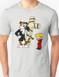 Calvin And Hobbes : Detective Unisex T-Shirt