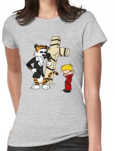 Calvin And Hobbes : Detective Womens Fitted T-Shirt
