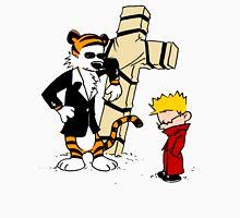 Calvin And Hobbes : Detective Men's Baseball ¾ T-Shirt