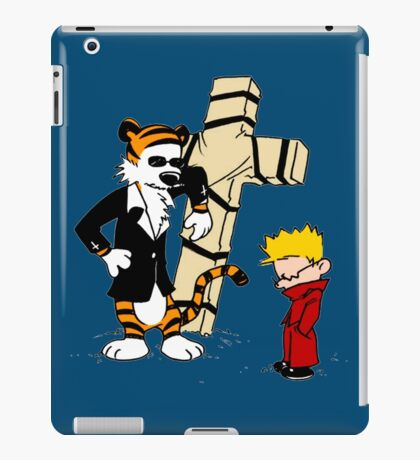 Calvin And Hobbes : Detective iPad Case/Skin
