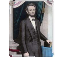 President Abraham Lincoln iPad Case/Skin