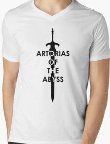 Artorias (Black) Mens V-Neck T-Shirt
