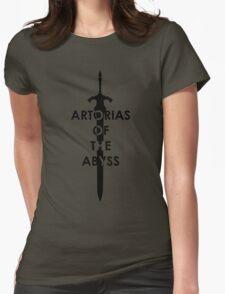 Artorias (Black) Womens Fitted T-Shirt