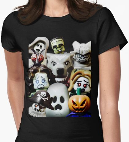 Lego Monsters are coming for you Womens Fitted T-Shirt