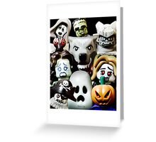 Lego Monsters are coming for you Greeting Card