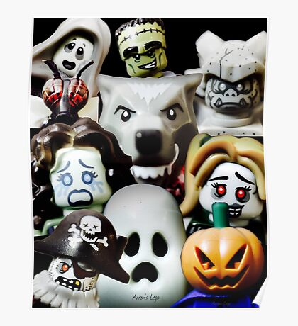 Lego Monsters are coming for you Poster
