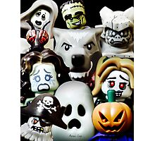 Lego Monsters are coming for you Photographic Print