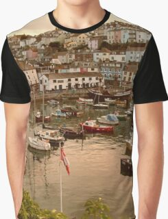 A harbour sunset Graphic T-Shirt