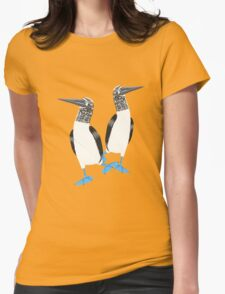 Blue-footed booby Womens Fitted T-Shirt