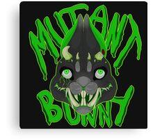 Mutant Bunny Canvas Print