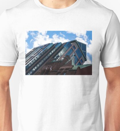 Color Matching Old and New - Downtown Toronto Juxtaposition Right Unisex T-Shirt