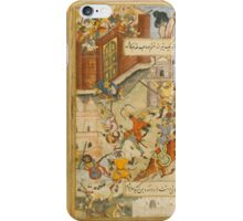 Babur attempts to defend Akhsi, India, Mughal, circa iPhone Case/Skin