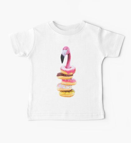 A Famished Flamingo Baby Tee