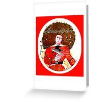 Struwelpeter Greeting Card