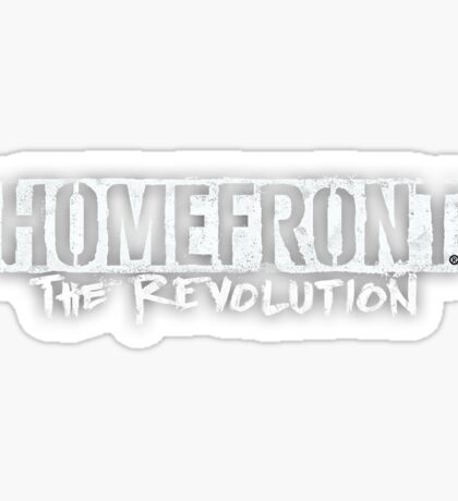 Homefront The Revolution Sticker