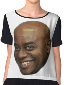 Ainsley Harriott (or lord and saviour) Chiffon Top