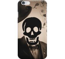 welcoming skeleton iPhone Case/Skin
