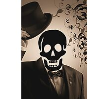welcoming skeleton Photographic Print
